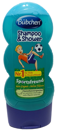 Bubchen Shampoo Shower Sports Friend