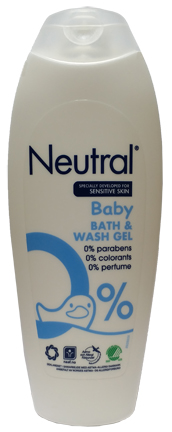 Neutral Baby Bath Wash Gel