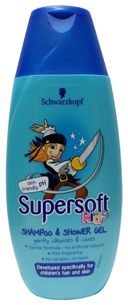 Supersoft Kids Shampoo & Shower Gel