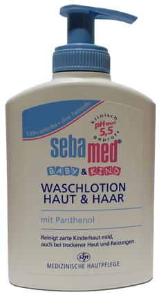 Sebamed Baby Wash Lotion